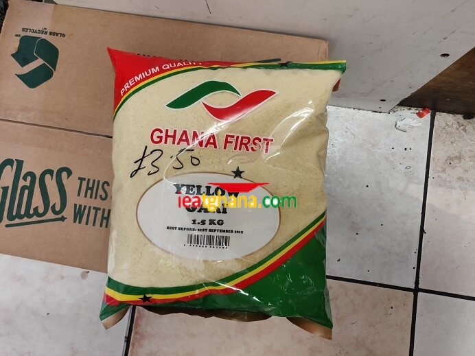 Gari (Yellow from Ghana)