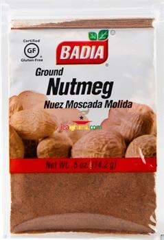 Badia Nutmeg Ground 0.5 oz