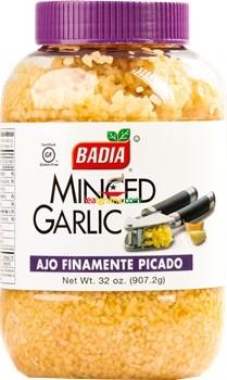 Badia Minced Garlic in Water 32 oz