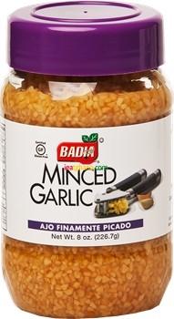 Badia Minced Garlic in Water 8 oz