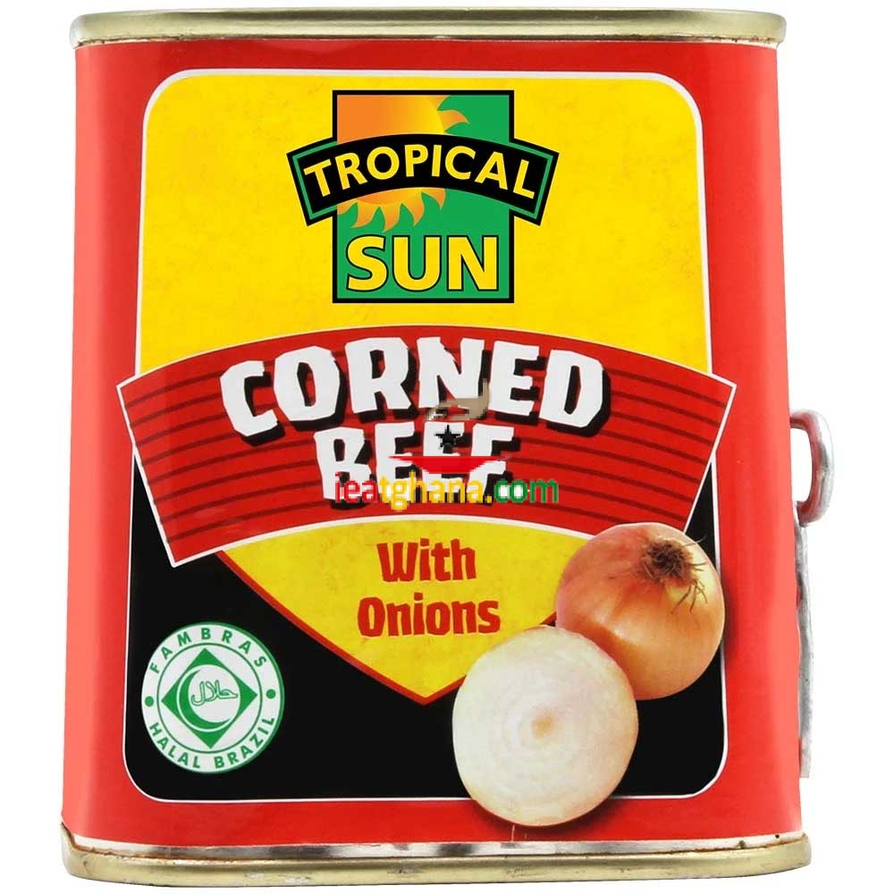 Corned Beef with Onions – Halal 340g