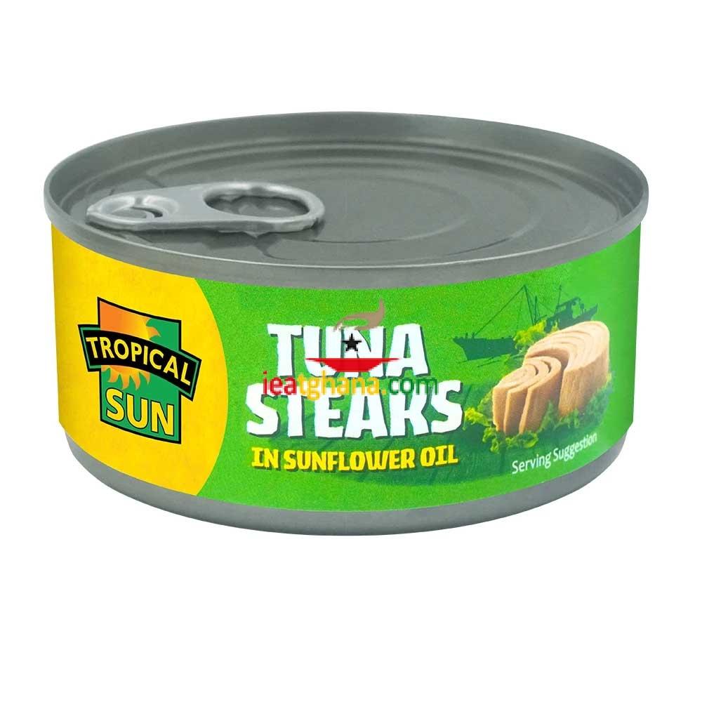 Tuna Steaks in Sunflower Oil 160g
