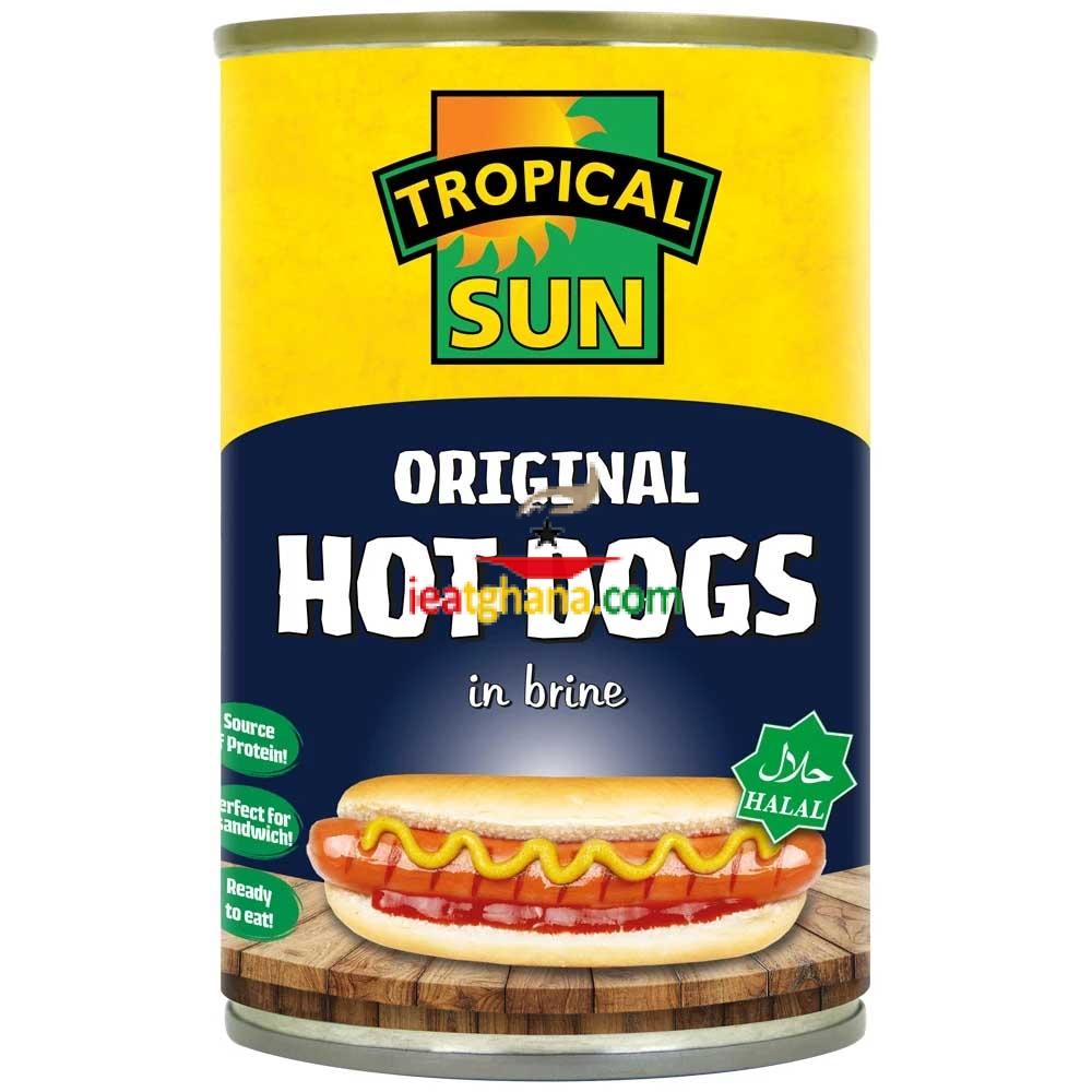 Hot Dogs in Brine 400g
