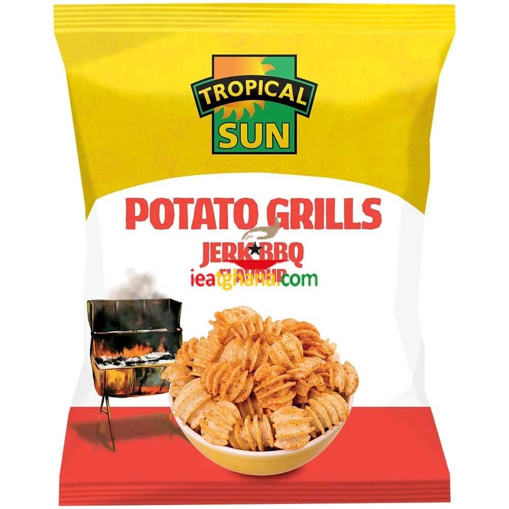 Potato Grills – Jerk BBQ 80g