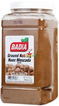 Badia Nutmeg Ground 4 pounds