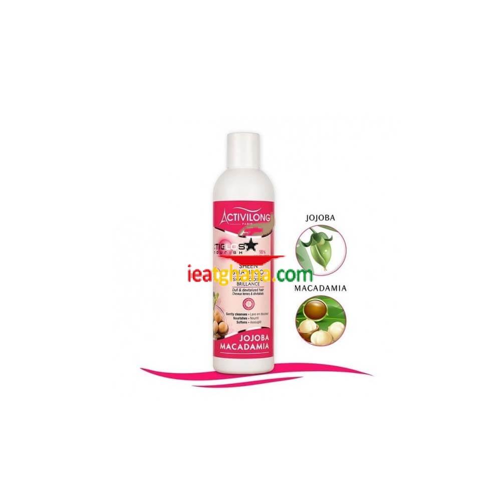 Activilong Actigloss Sheen Shampooing Jojoba Macadamia 250ml