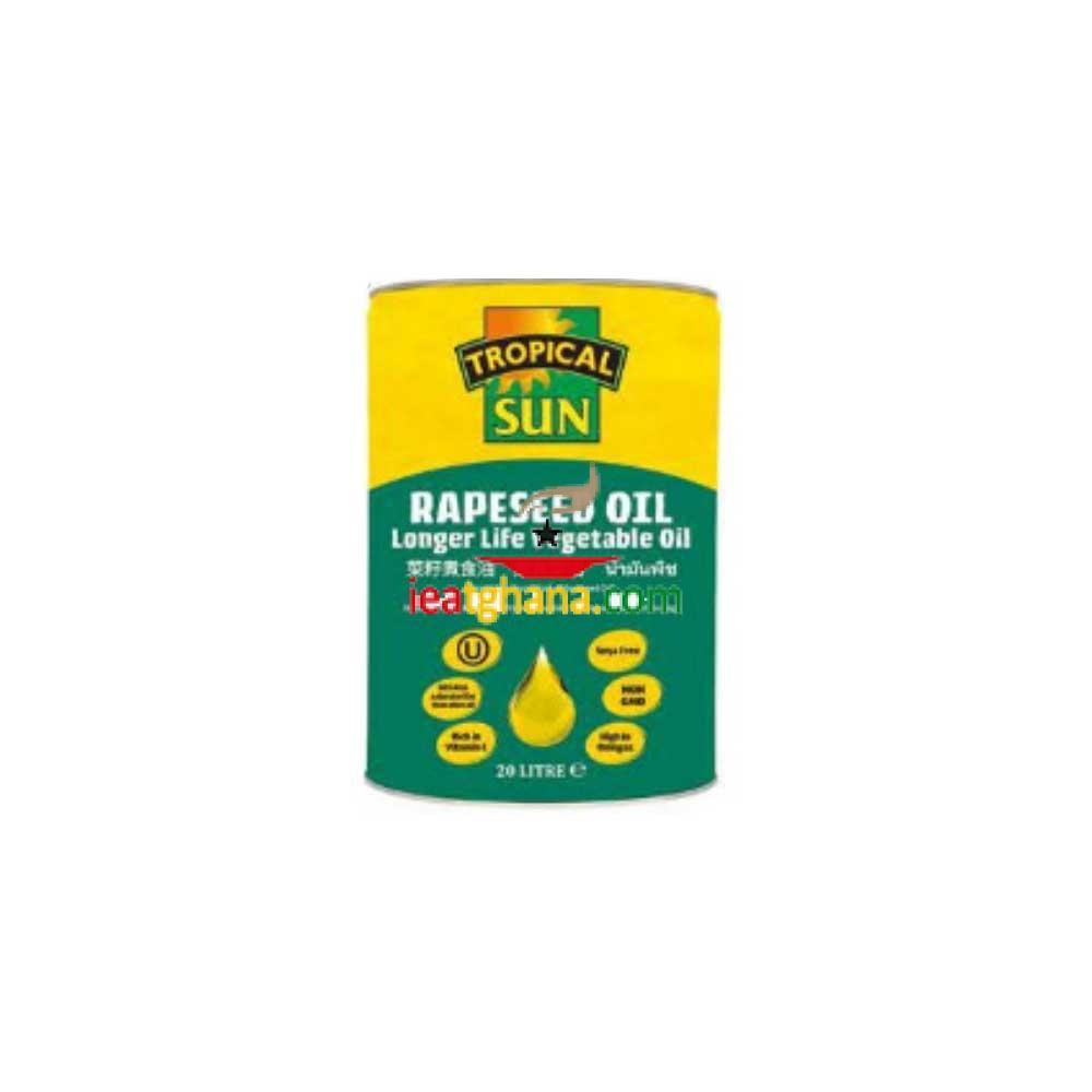 Tropical Sun Rapeseed Oil 20ltr