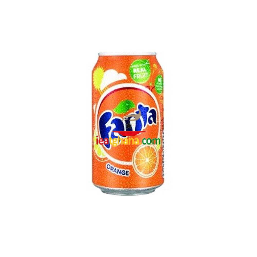 Fanta Orange Cans 330ml