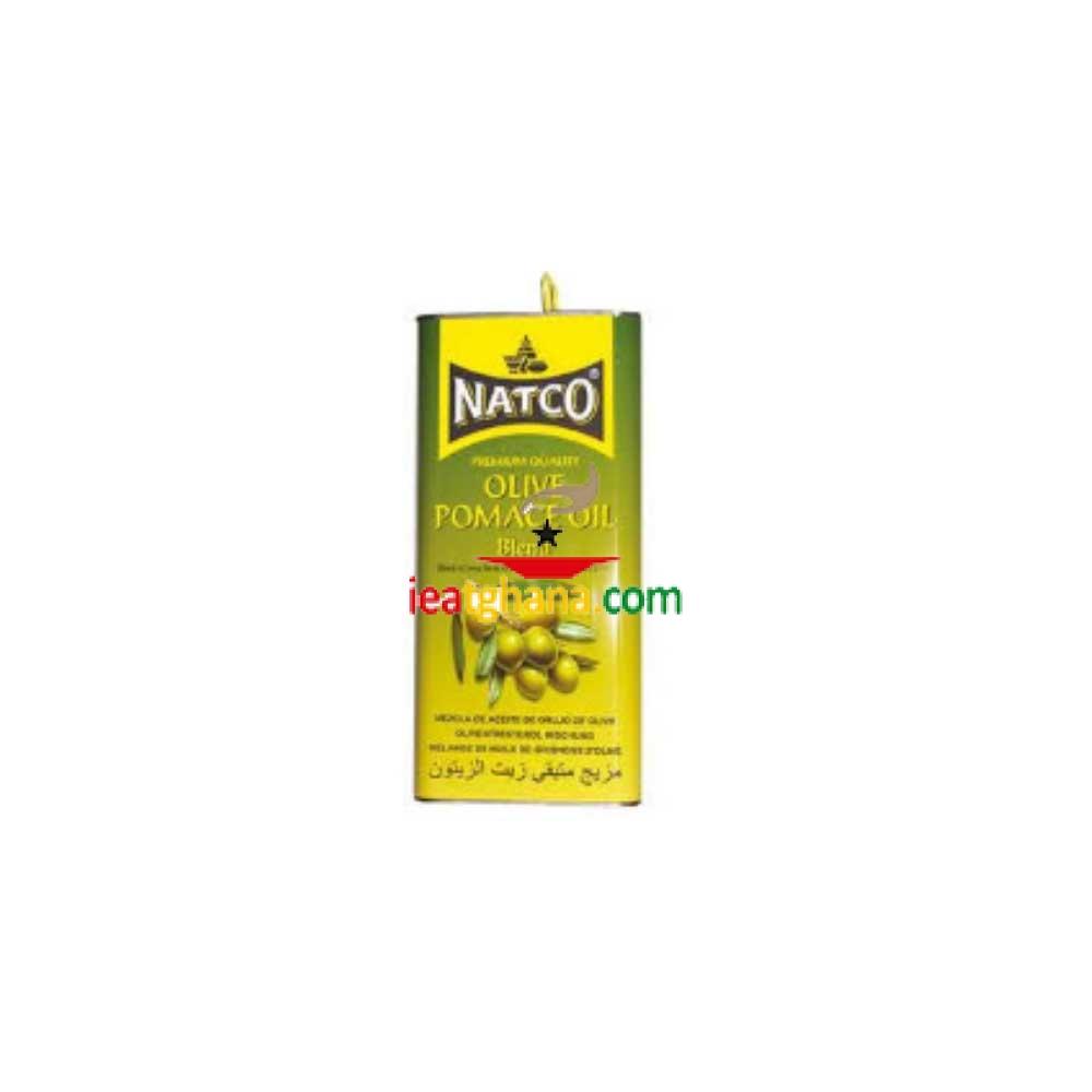 Natco Pomace Olive Oil 5Ltr