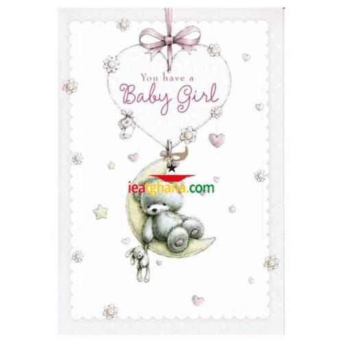 Everyday Greeting Cards code 50 – Birth Girl