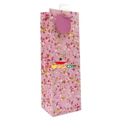 Bottle Gift Bags – Pink