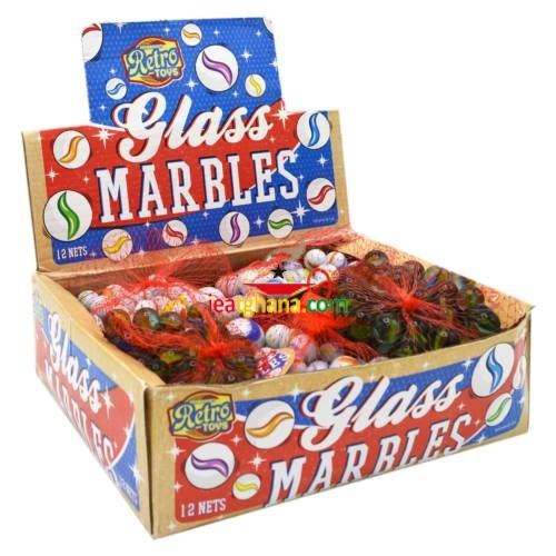 Marbles 50 Pack – Assorted Designs