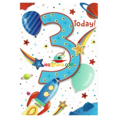 Everyday Greeting Cards code 50 – Age 3
