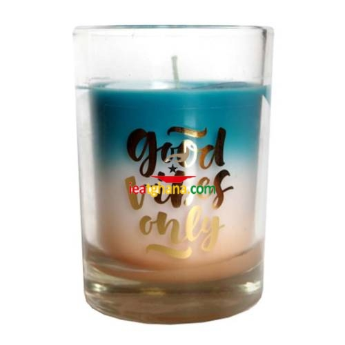 Good Vibes Only Scented Glass Candle 85