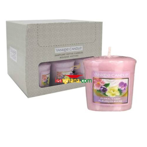 Yankee Votive Candles Floral Candy 49g