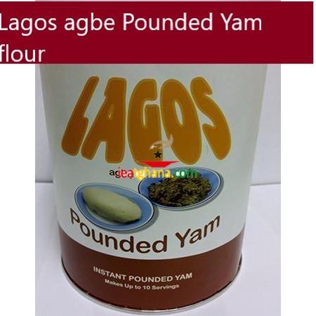 Lagos agbe Pounded Yam flour